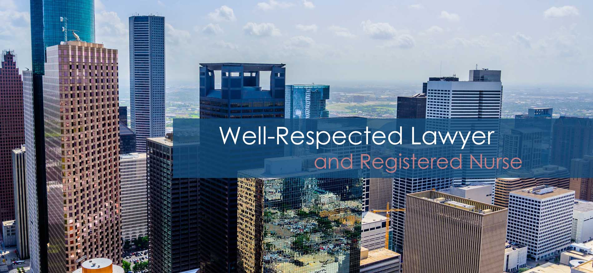 Joyce Stamp Lilly Registered Nurse and Personal Injury Lawyer in Houston, Texas